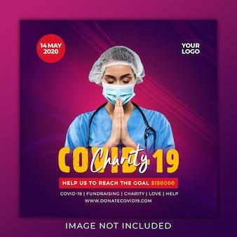 Wohltätigkeitsorganisationen sammeln spenden gegen coronvirus