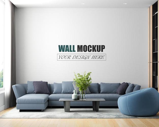 Wohnzimmer in einem modernen stil eingerichtet