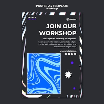 Workshop poster vorlage