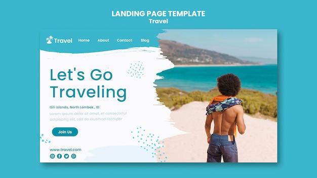 World exploration landing page