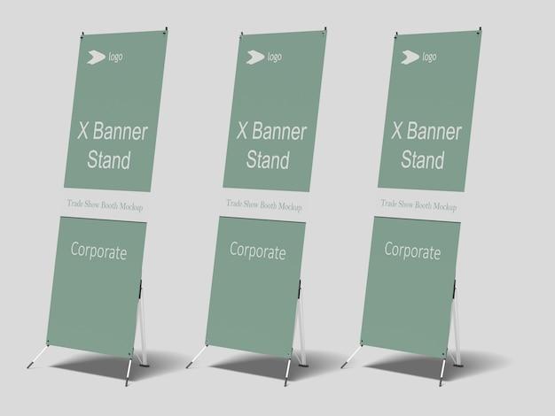 X-banner-modell
