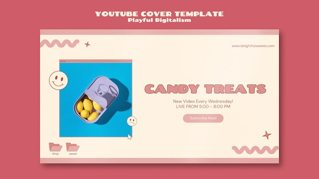Youtube-cover des süßwarenladens