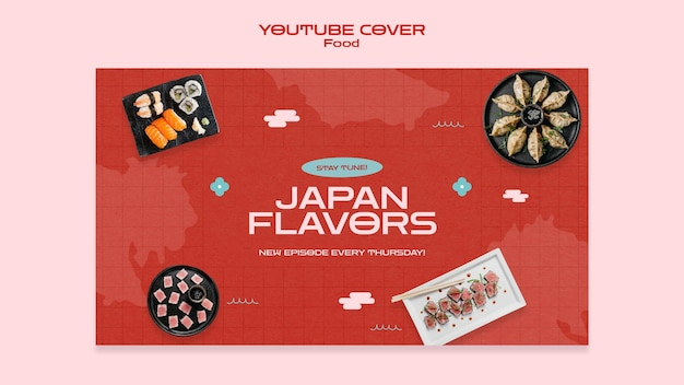Youtube-cover für japanisches essen