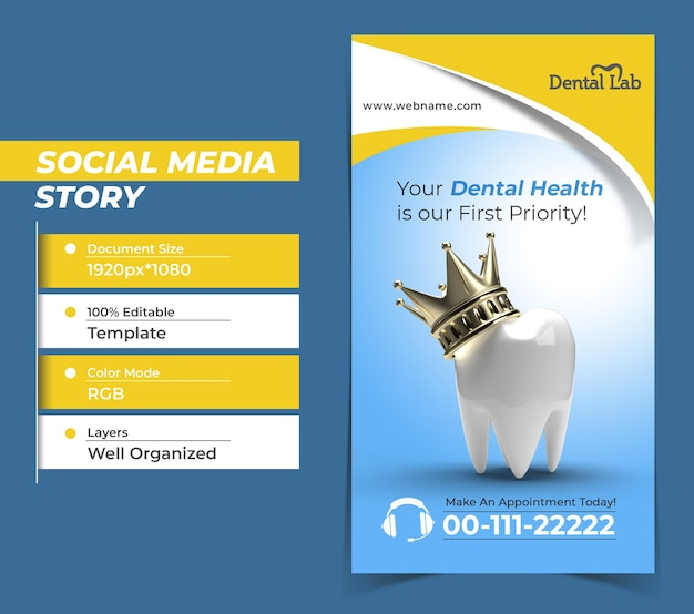 Zahn mit golden crown dental implants surgery concept instagra