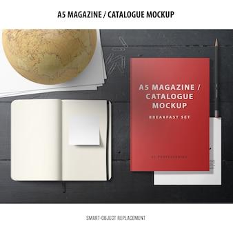 Zeitschriftenkatalog mockup
