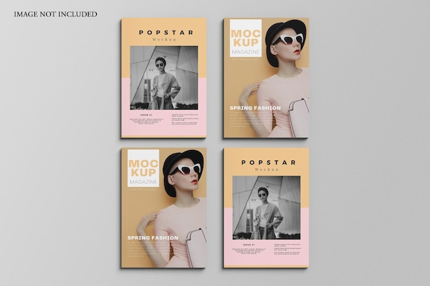 Zeitschriftenmodell Premium PSD