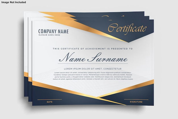 Zertifikat designmodell