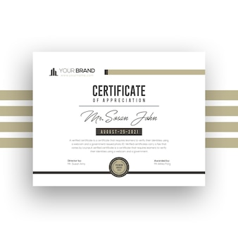 Zertifikatvorlagenentwurf