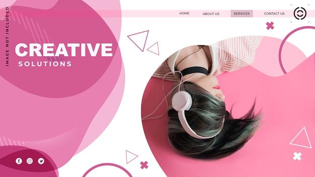 Zielseite website