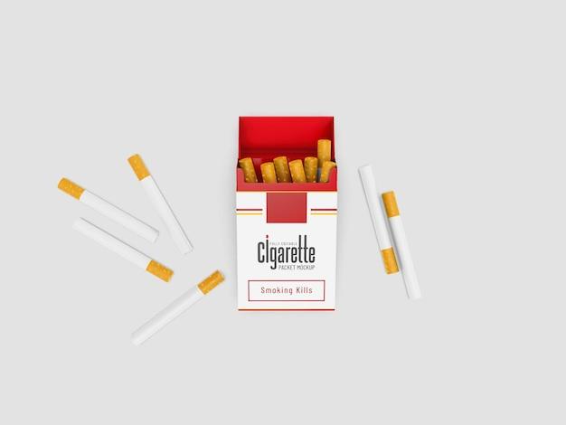Zigarettenpäckchen-modell