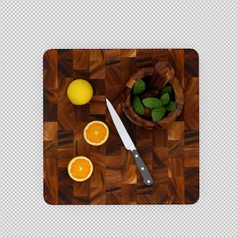 Zitrone 3d übertragen