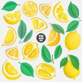 Zitronen clipart sammlung