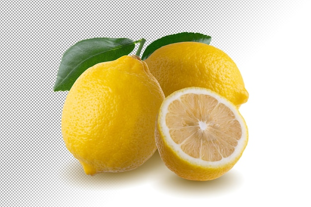 Zitronenfrucht isoliert
