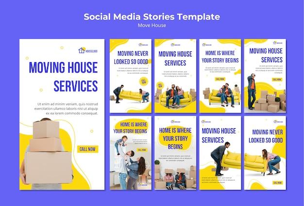 Zuhause beginnt die geschichte in den sozialen medien