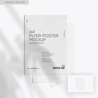 Zwei a4 flyer-poster mockup 02
