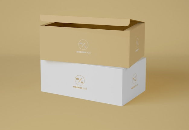 Zwei-box-verpackungsmodell