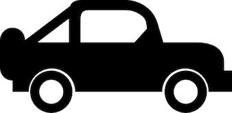 Auto con ruota di scorta
