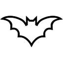 Volare pipistrello volpe scaricare foto gratis - Contorno immagine di pipistrello ...