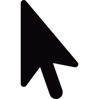 Cursore freccia nera