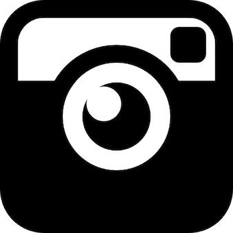 Fotocamera quadrato annata