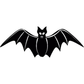 Di volo pipistrello foto e vettori gratis - Contorno immagine di pipistrello ...