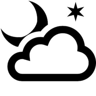 Nubi nella notte