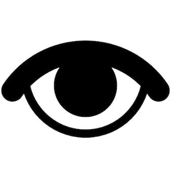 Occhio che rappresenta visibile