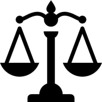 Scale che rappresentano la giustizia