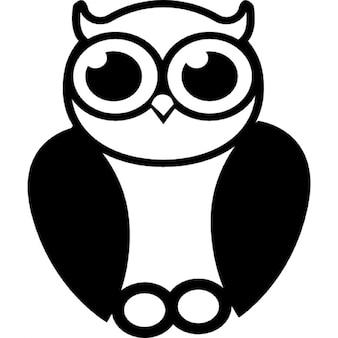 Simbolo del gufo saggio