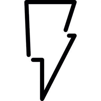 Bolt contorno scaricare icone gratis - Contorno squalo martello ...