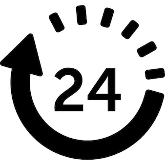 24 uur levering
