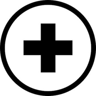 Add knop. kruis in een cirkel
