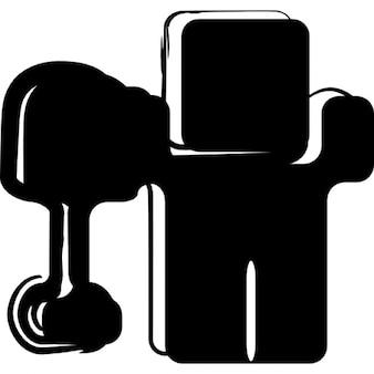 Digg sociale schets logo variant
