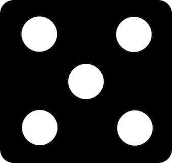 Dobbelsteen met zes zijden