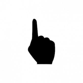 Een vinger