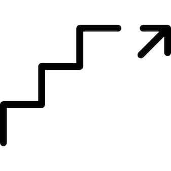 Trap pijl vectoren foto 39 s en psd bestanden gratis download for Trap naar boven