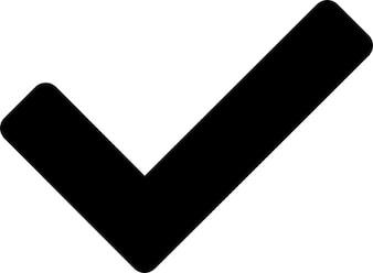 Goedkeuren symbool