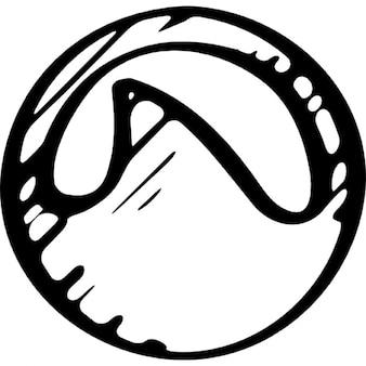 Grooveshark logo schets variant