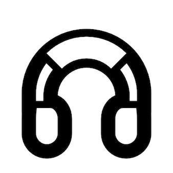 Grote koptelefoon