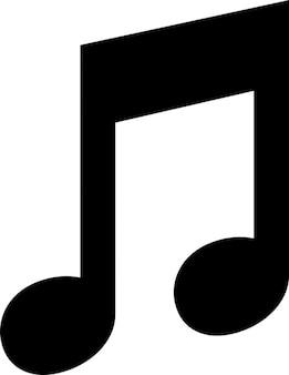 Muzieknoot geluid