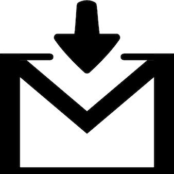 Ontvangen van een email