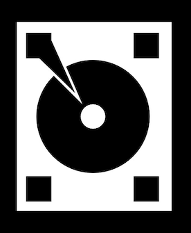 Oude dj set vinyl speler