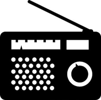 Oude radio. wijnoogst