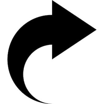 Pijl naar rechts