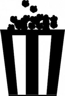 Popcorn in klassieke doos