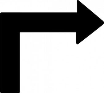 Rechtsaf signaal