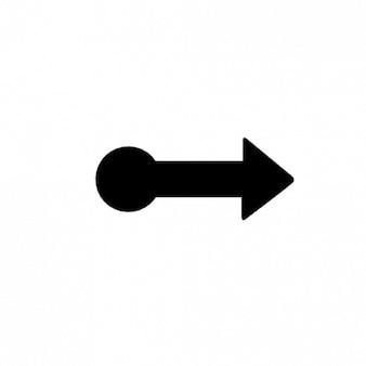 Swipe naar rechts