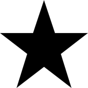 Vijf punten ster.