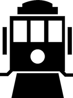 Voorzijde van de trein