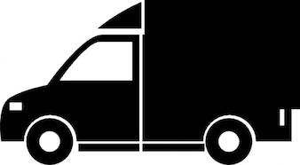 Vrachtwagen voertuig